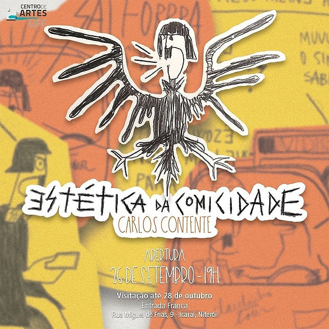 ESTETICA DA COMICIDADE_GALERIA DA UFF_CA