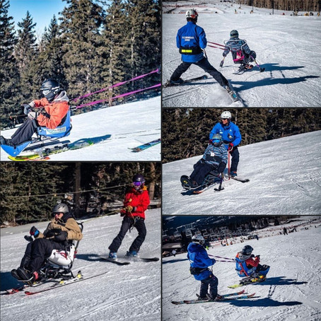 Northern Arizona Adaptive Sports Association is at Arizona Snowbowl