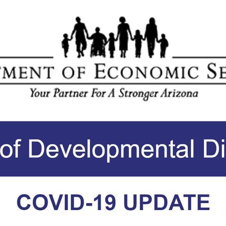 DDD & COVID-19 Update