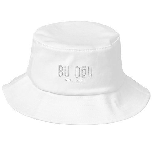BU DOU Old School Bucket Hat