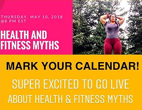 Health & Fitness Myths WBC