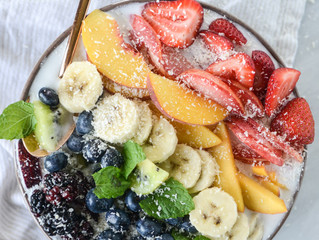 Recipe: Rainbow Coconut Smoothie Bowl