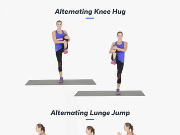 At Home Cardio Routine