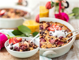Recipe: Chocolate Strawberry Oatmeal