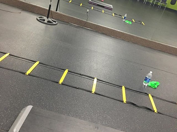 Agility Ladder Time