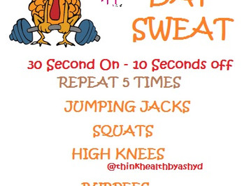 WOD: Turkey Day Sweat