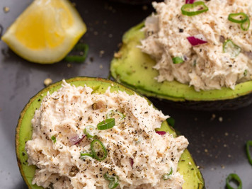 Recipe: Chicken Salad Avocado Boats