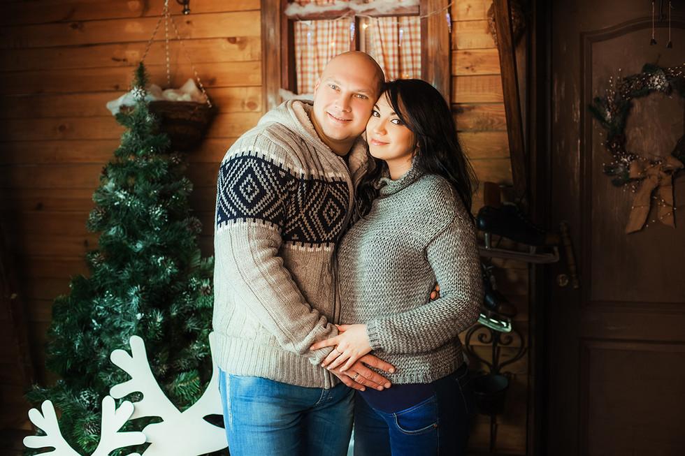 новогодняя фотосессия, москва, фотограф