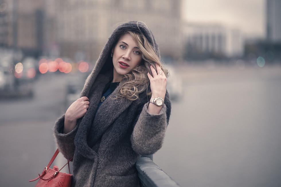 фотосессия на улице, москва, портретный фотограф