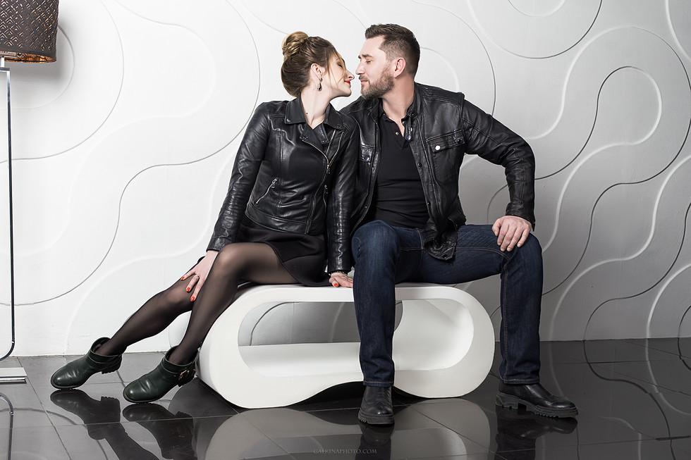 фотосессия для пары в москве, в студии