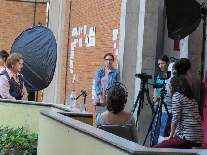 """Filmagens do Documentário """"60 anos de memória da Escola de Belas Artes da UFMG"""" - Lucia Pi"""
