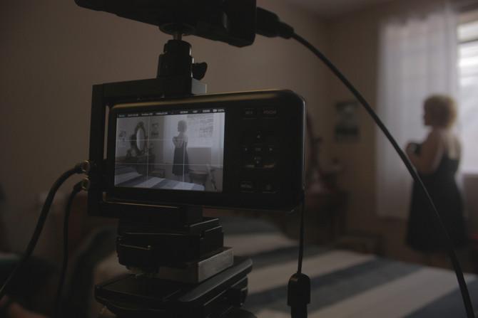 """Filmagens para vídeo do Projeto """"Fala,Jovem!"""" da Faculdade de Direito da UFMG."""