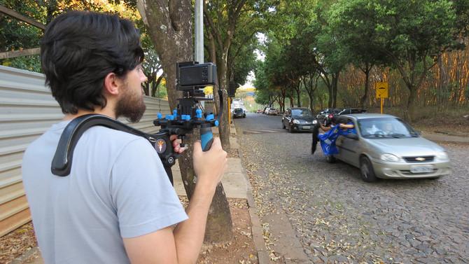"""Filmagens para vídeo do Projeto """"Fala,Jovem!"""" da Faculdade de Direito da UFMG. Uma parceri"""