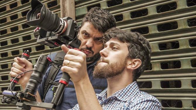 """De volta ao Rio de Janeiro. Gravações para o documentário """"Bonifácio - o fundador do Brasil&quo"""