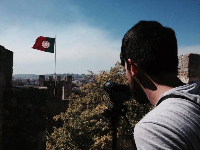 Catavento Filmes nas gravações do documentário Bonifácio - O Fundador do Brasil em Portugal e França