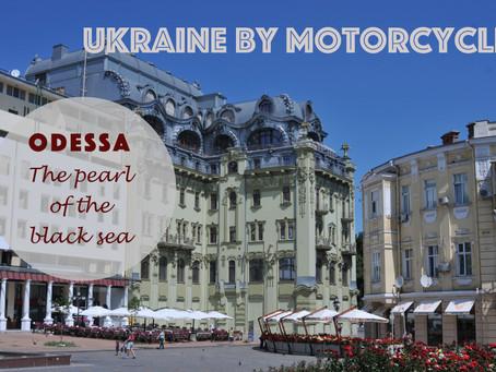 Ukraine by motorcycle - Odessa