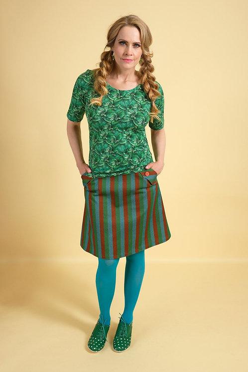 MARGOT Shirt Miss Mynte mit floralem Muster