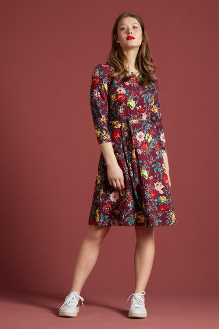 King Louie Betty Dress Prado Jersey-Kleid