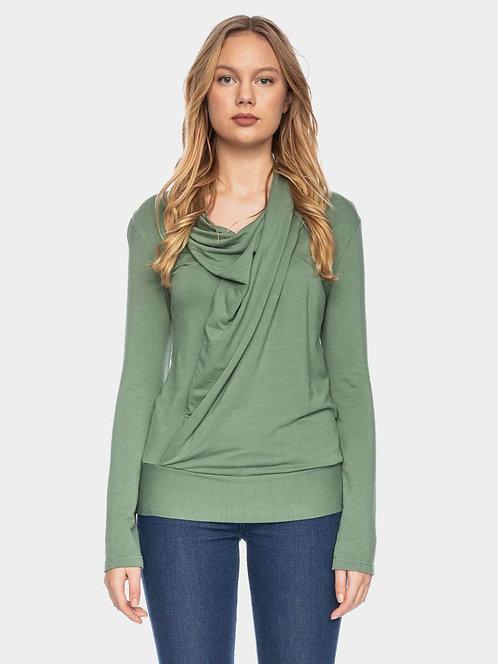 ATO Berlin Mariola - Langarm Shirt aus Bambus