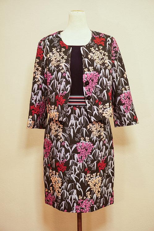 FOX'S Jacke YOGI mit floralem Muster