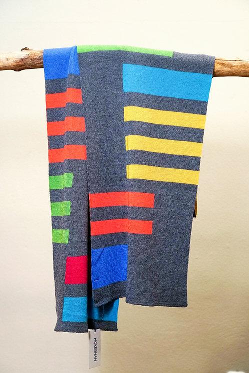McKernan FORMBY Schal mit modernem Muster