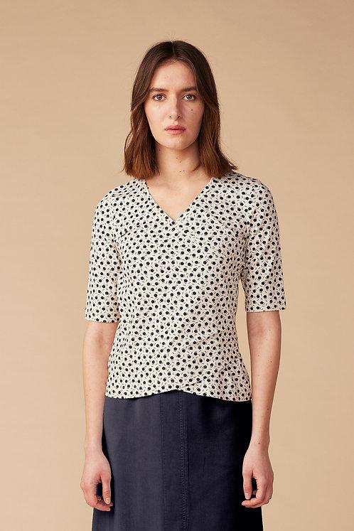 Lana Shirt Ada in Cube Pearl