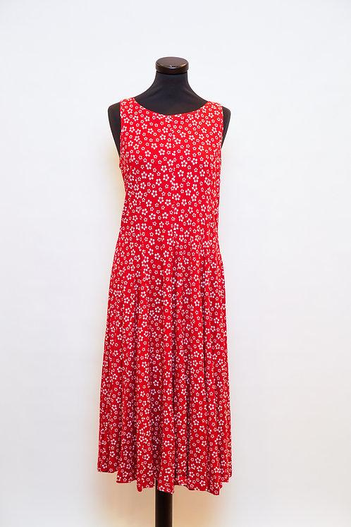 Lana Kleid Isa in Cherry Blossom Portwine