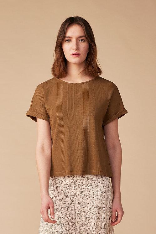 Lana Shirt Maelys in Sepia Brown