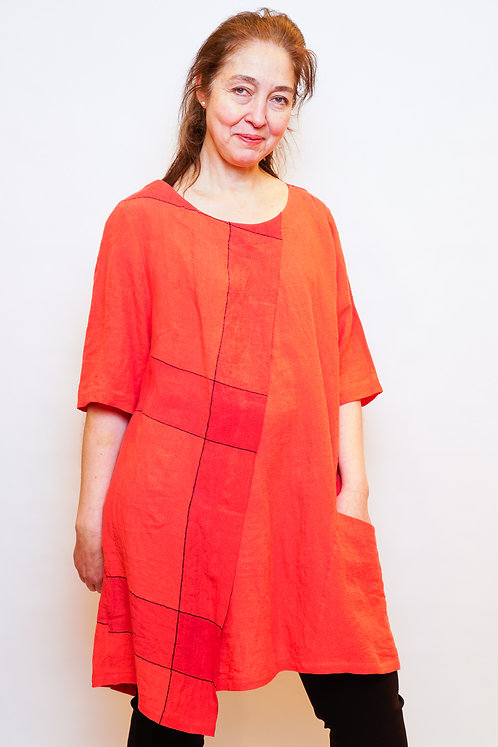 Manon Longshirt in Rot
