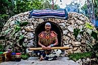 Temazcal shamanic ritual