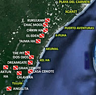 Riviera Maya Cenotes diving