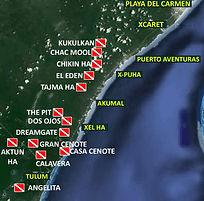 Дайвинг сеноты Ривьера Мая Мексика Канкун