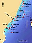 Playa del Carmen Riviera Maya dive sites