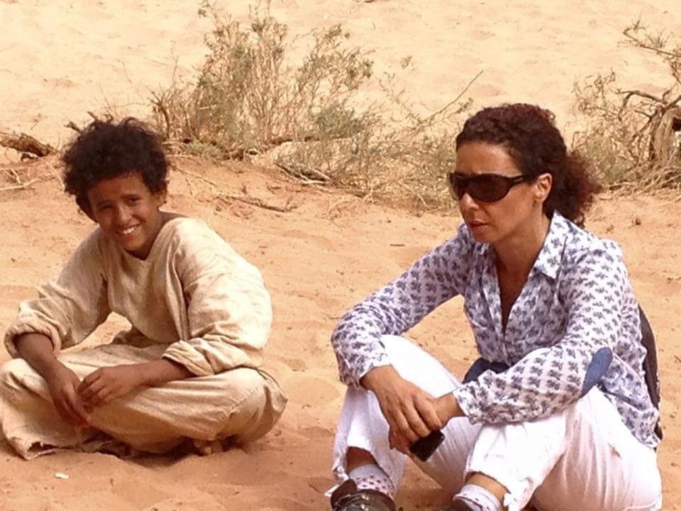 نادين طوقان مع جاسر عيد - تصوير فادي غندور