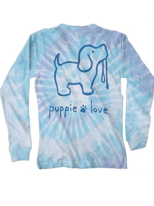 Lite Blue Tie Dye #4 (LS)