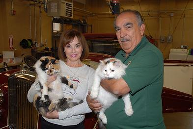 Lenny & Frankie Pic w- cats.JPG
