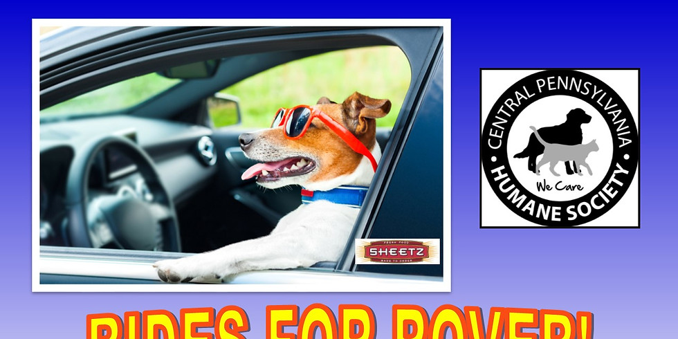 RIDES FOR ROVER SHEETZ GAS GIVEAWAY