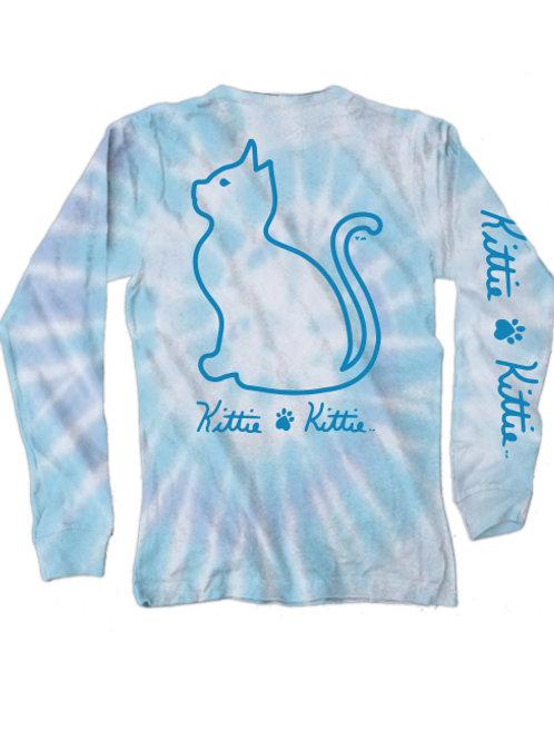 Kittie Kittie Wildflower Tie Dye LS