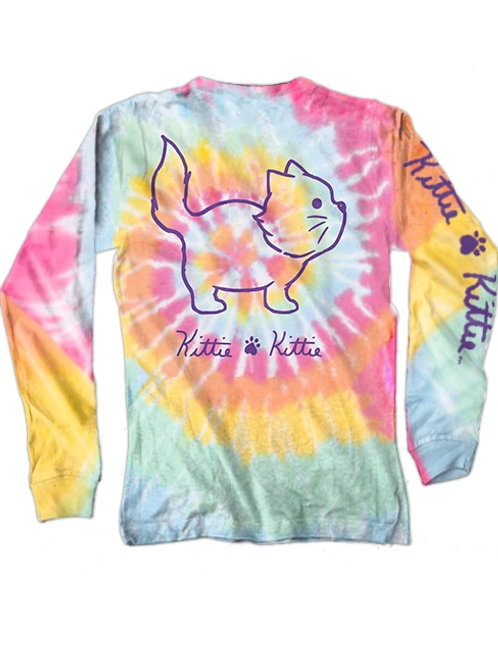 Tye Dye Kittie (LS)