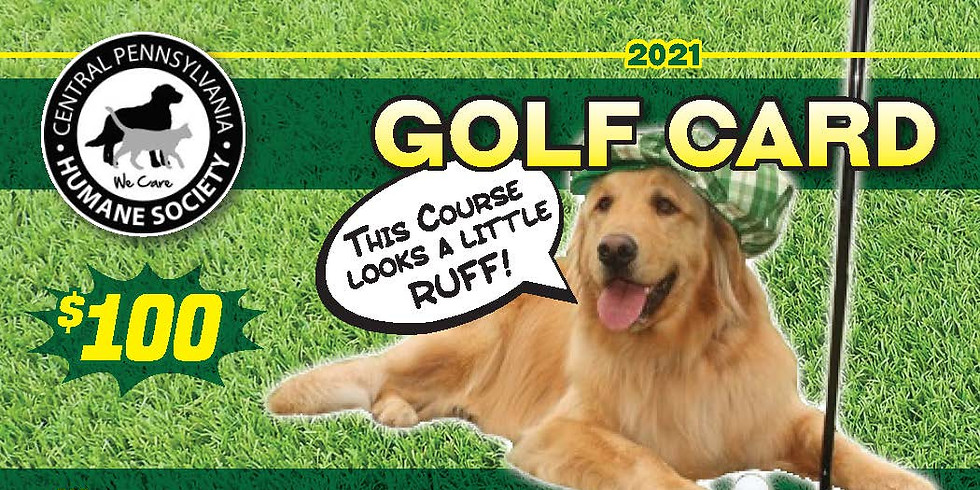PUTTS for MUTTS GOLF CARD 2021