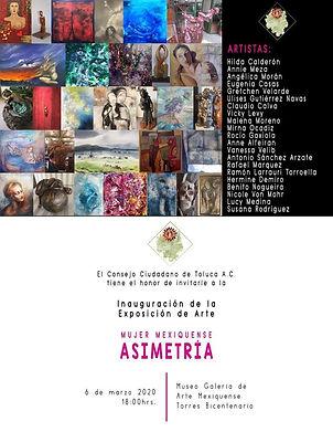 expo asimetria museo torres bicentenario