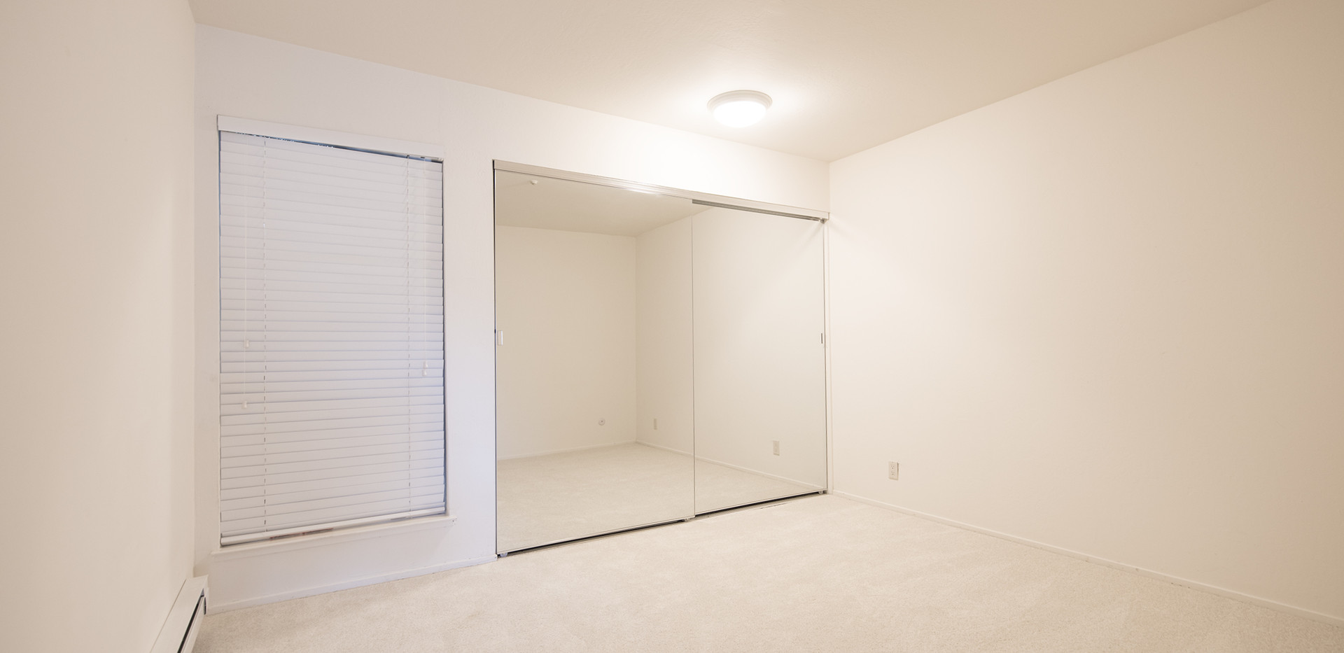 Bedroom, closet with adjustable shelving