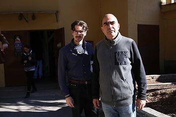 Gabriele Giannni con Elio e le storie Tese