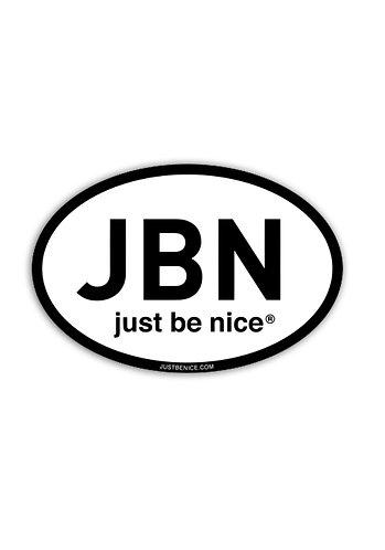 JBN Initial Sticker