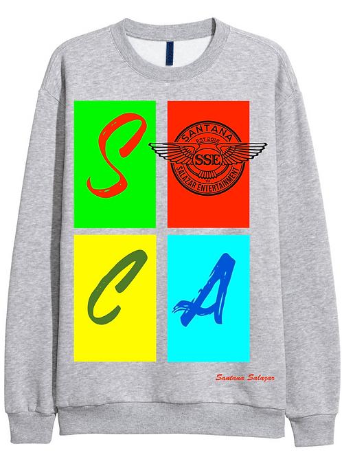 Grey Sweatshirt SOCA Multi Color