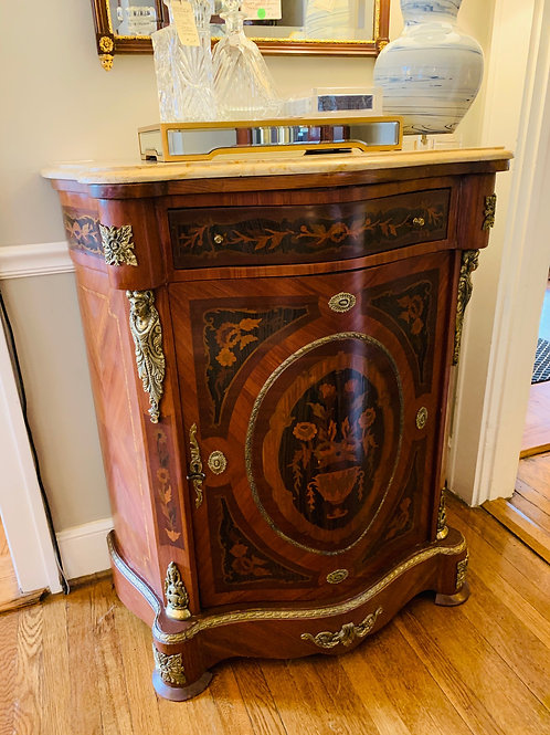 Vintage Inlaid Cabinet