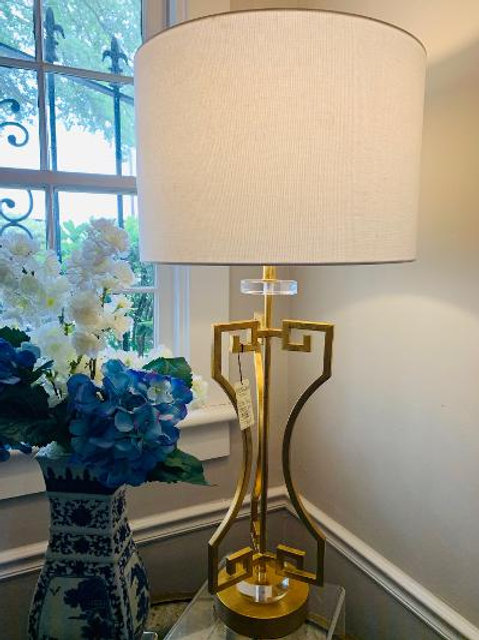 Chelsea House Gold and Acrylic Lamp