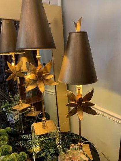 Flambeau Gilded Azelea Lamp
