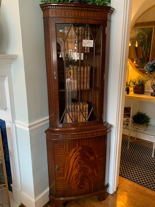 Bow Front Cabinet