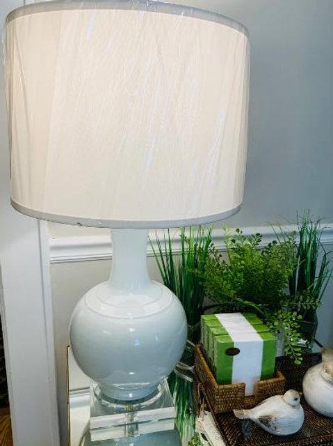 Gourd Vase Lamp w/ acrylic base